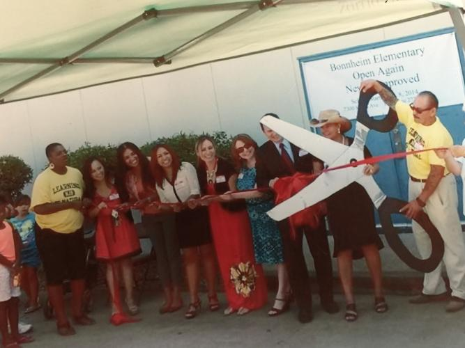 Our proud moment! Ribbon cutting ceremony of the re-opening of NJB.